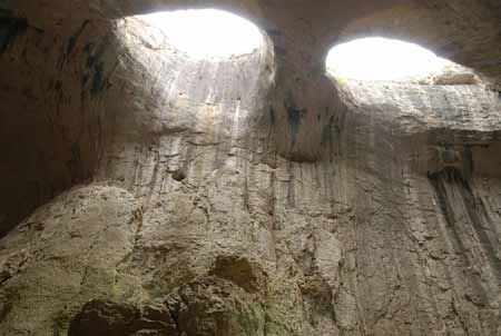 Cave with God's Eyes Prohodna