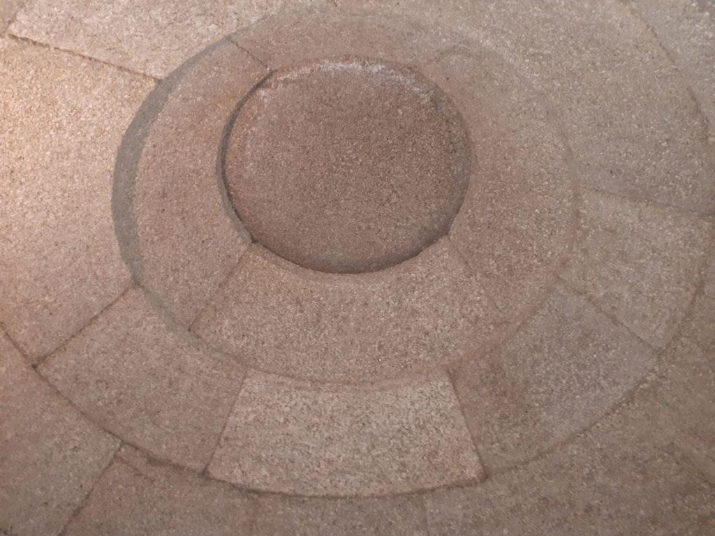 The dome in Griffins Tomb