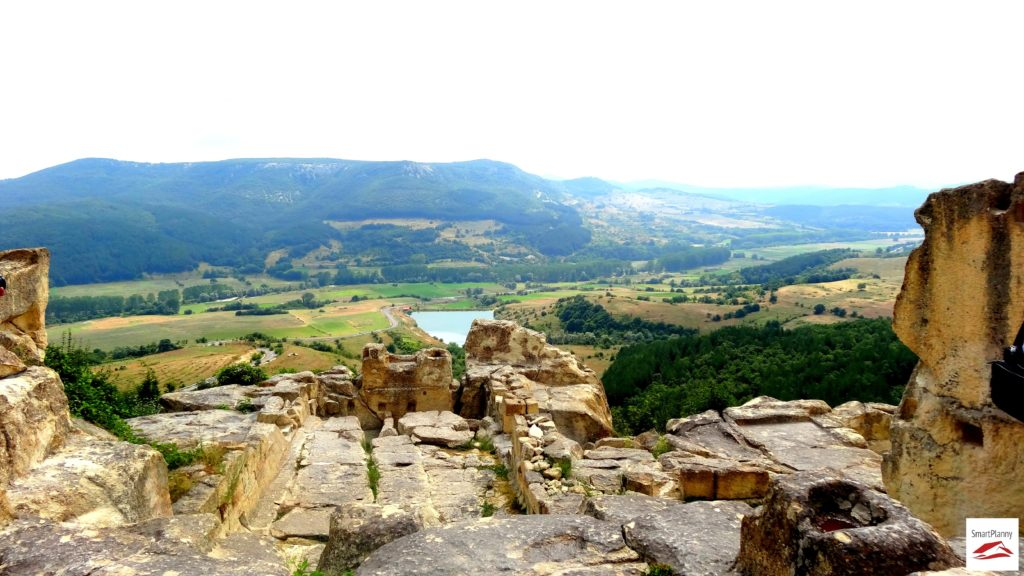 Panoramic view from the Castle of Perperikon